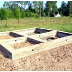 Как самому построить фундамент для бани