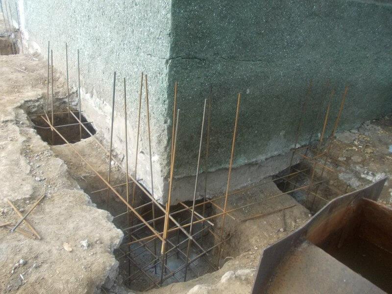 Как укрепить фундамент старого дома своими руками видео
