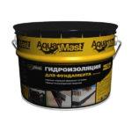 AquaMast — гидроизоляционная битумная мастика для фундаментов