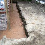 Как сделать глиняный замок вокруг фундамента